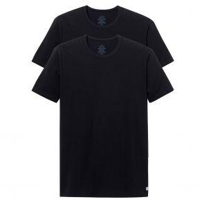Calvin Klein Cotton Stretch Crew Neck Tee 2-Pack NB1178 Black