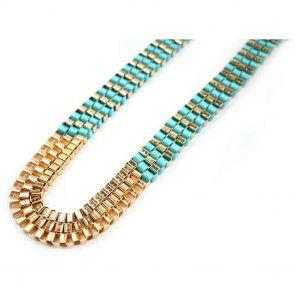 Ivys Necklace N7055 Blue