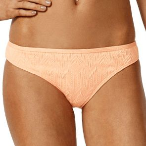 Piha Gelato Gathered Brazilian Swim Pant P2007GT Melon
