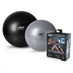 PTP Pilates Ball Combo PB COMBO Silver/Black