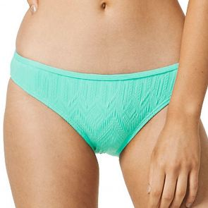 Piha Gelato Gathered Brazilian Swim Pant P2007GT Mint