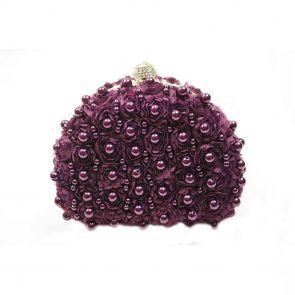 Ivys Berry Power Evening Bag B552 Purple
