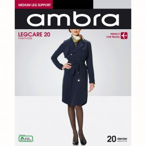 Ambra Travel Leg Care 20 Pantyhose QAN20PH Black