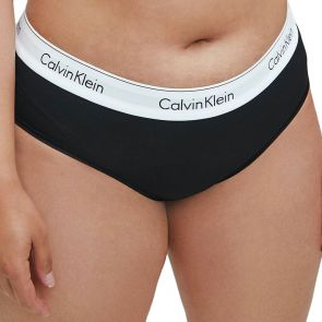 Calvin Klein Modern Cotton Plus Hipster QF5118 Black