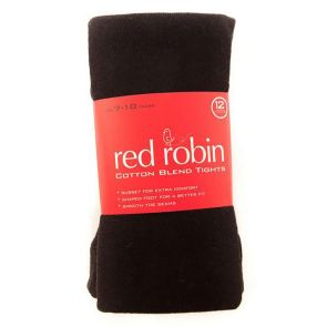 Red Robin Becky Cotton Tights R40181 Black