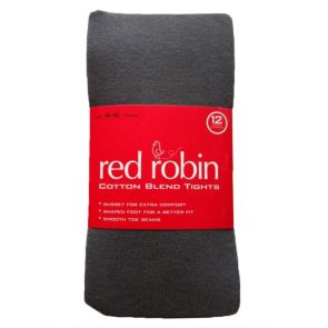 Red Robin Becky Cotton Tights R40181 Grey