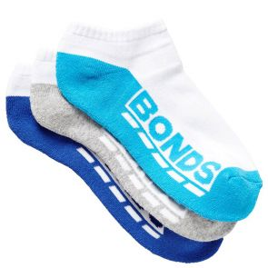Bonds Kids Logo Low Cut Sport Socks 3-Pack R5093N Pack 13