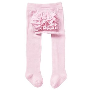 Bonds Baby Frilly Tights RYUU1N Sweet Pink