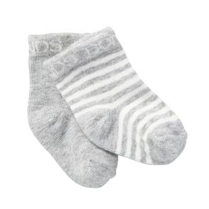 Bonds Baby Classic Bootee 2-Pack RYY92N New Grey Marle