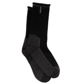 Holeproof Explorer Mens Wool Blend Young Marle Socks Black S1140