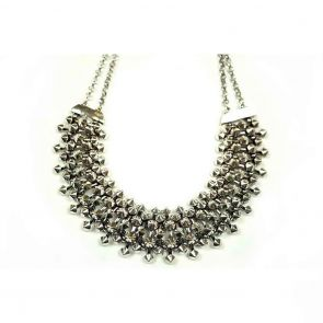 Ivys Necklace N1705 Silver