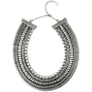Sistaco Cleopatra-Wide Collar 740S R43 EY Silver