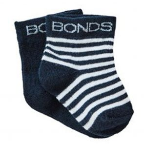 Bonds Baby Classic Bootee 2-Pack RYY92N Blue