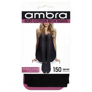 Ambra Cotton Comfort Tight ACOCOTI Black