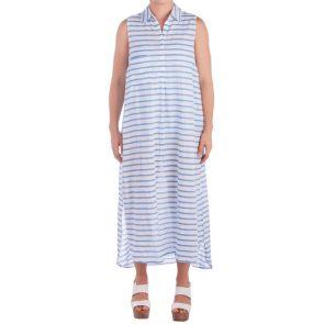 Sunseeker Martinique Flip Side Shirt Dress Blue SS91090
