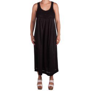 Sunseeker Martinique Bellini Midi Dress Black SS91091