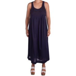Sunseeker Martinique Bellini Midi Dress Ink SS91091