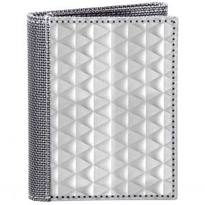 Stewart Stand TriFold ID Stainless Steel Wallet TF3301 SIlver Triangle