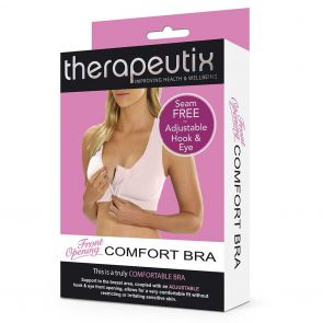 Therapeutix Front Opening Comfort Bra TFOCB Natural