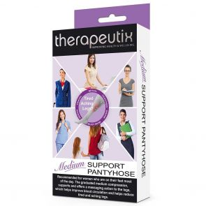 Therapeutix Medium Support Pantyhose TMSPH Black