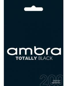 Ambra 200D Totally Opaque Tight ATOBLOPQ Black