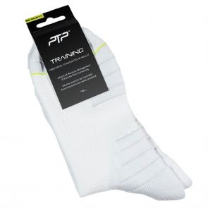 PTP Training Crew Socks PTP TRNCRWSOCK WHT White