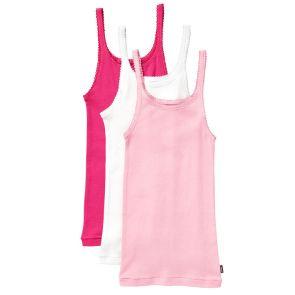 Bonds Girls Teena Singlet 3-Pack UYG43W Pink Pack