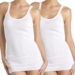 Bonds Comfy Tube Vest Singlet 2-Pack W5M14W White