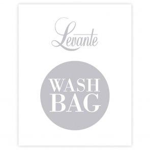 Levante Hosiery Washbag WBAGLEV White