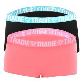 Tradie Lady 2 Pack Shortie WJ2096SL2 Focus