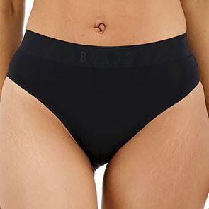 Bonds Invisi Comfortband Hi Leg Brief WTRL Black