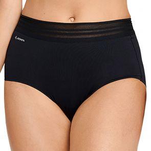 Jockey No Panty Line Promise Sheer Tops Full Brief WUG4 Black