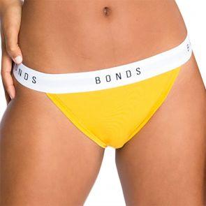 Bonds Originals Tanga Bikini WUR3A Sunshine Yolk