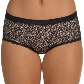 Berlei Barely There Lace Full Brief WVFB Black
