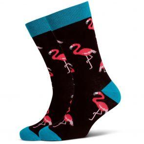 Mitch Dowd Flamingos Crew Socks XMDM514 Multi