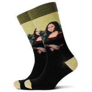 Mitch Dowd Mona Lisa Jacquard Crew Socks XMDM543 Multi