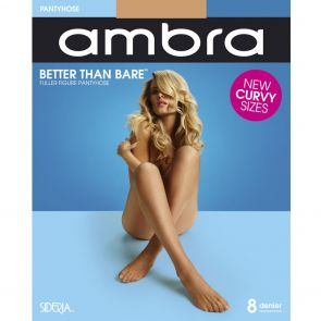 Ambra Better than Bare Fuller Figure Pantyhose BETTBPHFF Natural Bisque