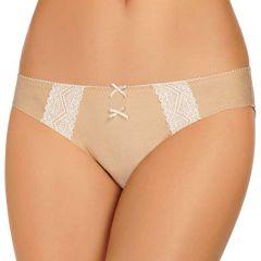 HEIDI By Heidi Klum Marl Lace Bikini H30-1180B Toasted Almond Marl/Pristine