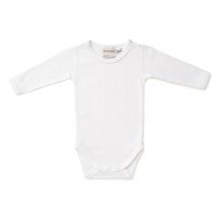 Marquise Long Sleeve Bodysuit White MQB3