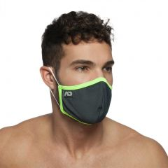 Addicted Spider Mask AC106 Charcoal