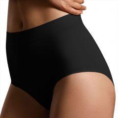 Ambra Killer Figure Powerlite Full Brief AMKFFB Black Beige Womens Shapewear