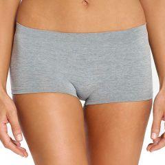 Ambra Seamless Singles Boyleg Brief AMSSBOY Grey Marle Womens Underwear