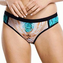 Aqua Blu Elysian Classic Swim Brief A9061EL Multi Womens Swimwear