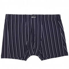 Bendon Man Cotton Stretch Trunk Navy/White B50-603