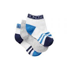 Bonds Baby Sportlet 3-Pack R6463N Blue Baby Socks