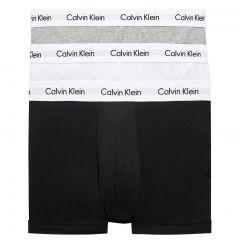 Calvin Klein Cotton Stretch Hip Trunk 3 Pack U2662 Black/Grey/White
