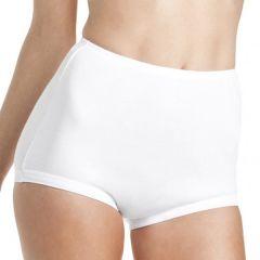 Bonds Cottontail Satin Touch Full Brief W012 White Womens Underwear