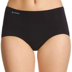 Jockey No Panty Line Promise Naturals Full Brief WWKT Black Womens Underwear