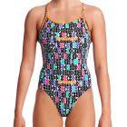 Funkita Diamond Back Swim One Piece FS11L Secret Code Womens Swimwear