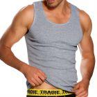Tradie Big Fella Singlet MJ1959SC Grey Mens Underwear